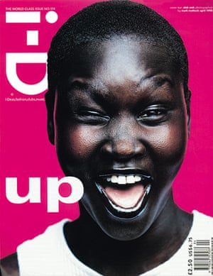 i-D: The World Class Issue April 1998 with Alek Wek