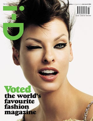 i-D: The Studio Issue March 2004 with Linda Evangelista