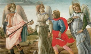 The Three Archangels and Tobias by Filippino Lippi notes and queries