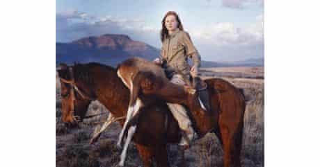 David Chancellor's Huntress with Buck