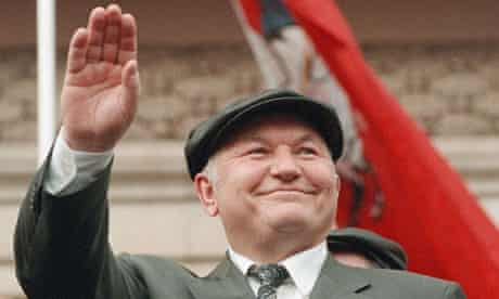 Moscow mayor Yuri Luzhkov