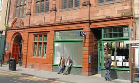 The Forest building hosts Edinburgh festival fringe shows