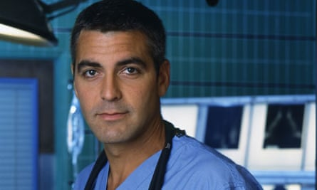 ER's Doug Ross played by George Clooney