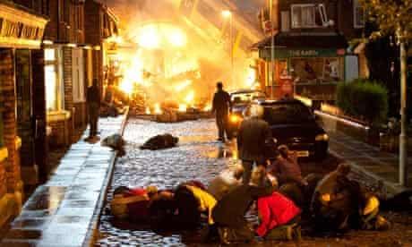 coronation Street crash