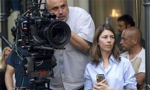 Director Sofia Coppola works on Somewhere