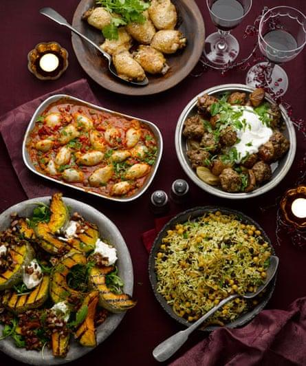 Yotam's Christmas spread