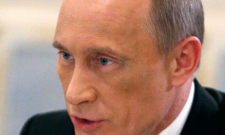 Russia's Prime Minister Putin