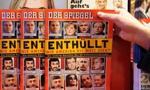 Der Spiegel Wikileaks cover