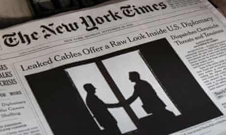 New York Times Wikileaks cover