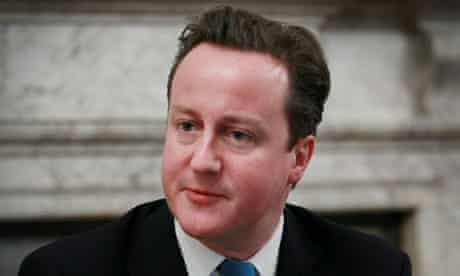 David Cameron on 10 December 2010.