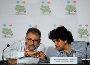 Cacun COP16 update: Brazilian Minister of Environment delegation