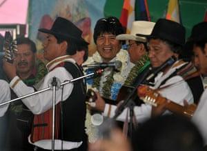 Cacun COP16 update: Bolivian President Evo Morales