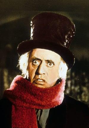 christmas films: Scrooge film still