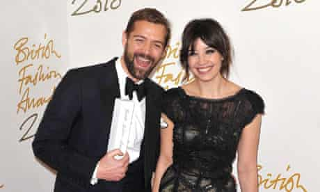 Patrick Grant and Daisy Lowe