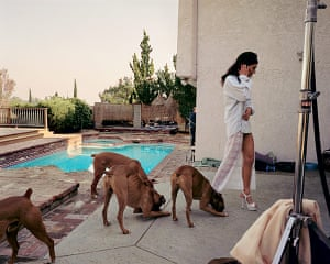 Photography Books: Boxers, Mission Hills, 1999, by Larry Sultan