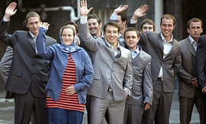 The British navy personnel seized and held by Iran for almost a fortnight in 2007