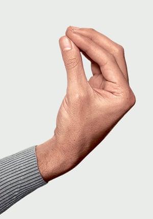 gestures: Flower bud