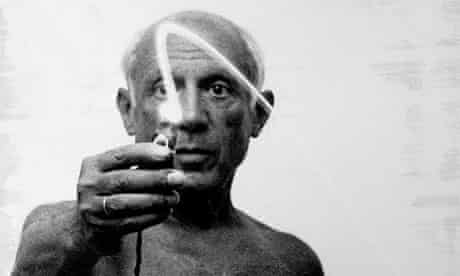 Leaving new marks ... Pablo Picasso
