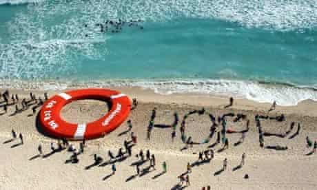 Greenpeace protest in Cancun
