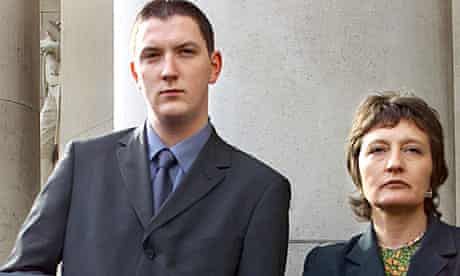 John and Geraldine Finucane, the youngest son and widow of Patrick Finucane, in 2000
