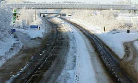 M8 motorway in Scotland