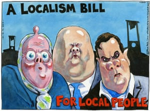 14.12.10: Steve Bell on the government's localism bill