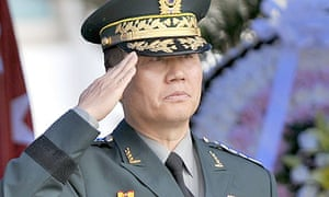 General Hwang Eui-don, who has resigned as the head of the South Korean army
