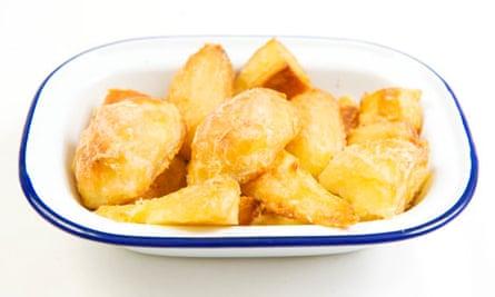 Felicity's roast potatoes
