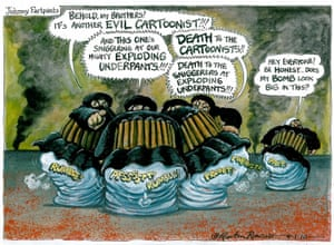Martin Rowson: exploding underpants