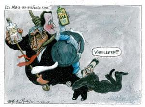Martin Rowson: Nick Clegg