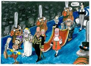 Martin Rowson: Nick Clegg/David Cameron