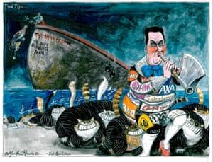Martin Rowson: George Osborne