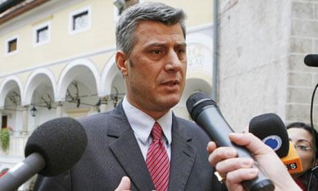 Hashim Thaci, prime minister of Kosovo