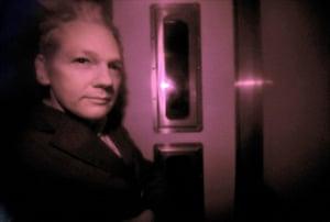 Julian Assange Trial: Wikileaks founder Julian Assange is pict