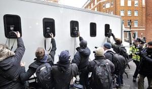 Julian Assange Trial: WikiLeaks founder Juilan Assange In Court