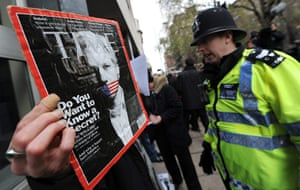 Julian Assange Trial: WIkiLeaks Juilan Assange In Court