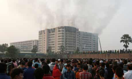 dhaka factory fire