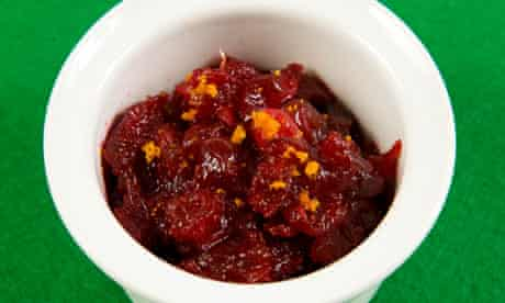 Felicity's perfect cranberry sauce
