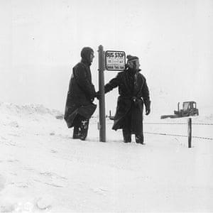 1962 Winter Freeze: Snow Stop