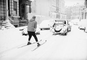 1962 Winter Freeze: Pulled Along Behind