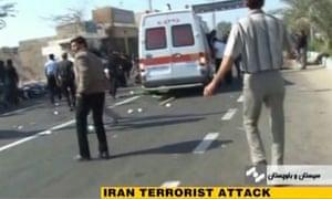 Suicide bomb Iran