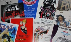 Posters from the memorabilia collection