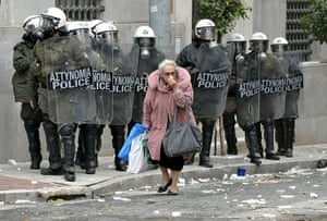 Riots in Athens: Clashes As General Strike Cripples Athens