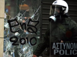Riots in Athens: Protest against new austerity measures in Greece