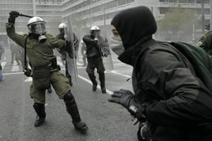 Riots in Athens: Greek Protests Against Austerity Measures