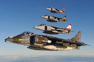 Harrier Jets Cuts: Last Harrier flight
