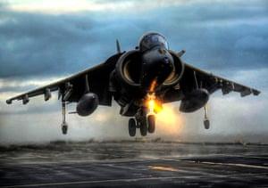 Harrier Jets Cuts: Harrier ends life in RAF