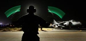 Harrier Jets Cuts: Iraq War GR7 Harrier
