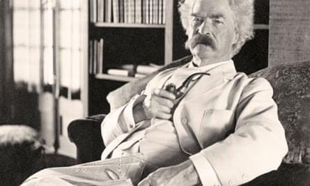 American writer Mark Twain