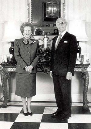 Leader Christmas Cards: Thatcher's 1987 Christmas Card